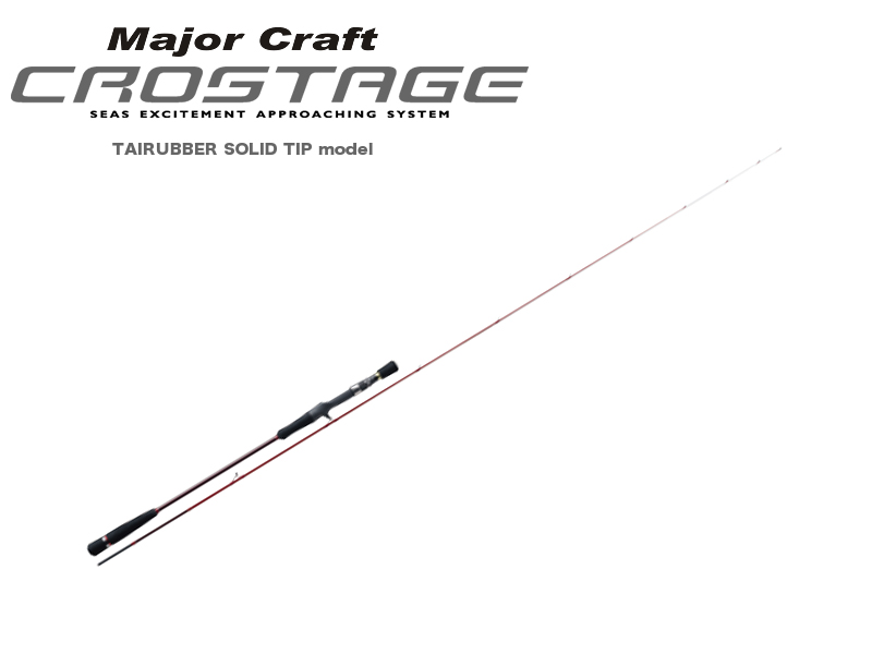 MajorCraft Crostage Tai Rubber Solid Tip Model CRJ-B66MHTR/S (Length: 2.01mt, Lure: MAX120gr)