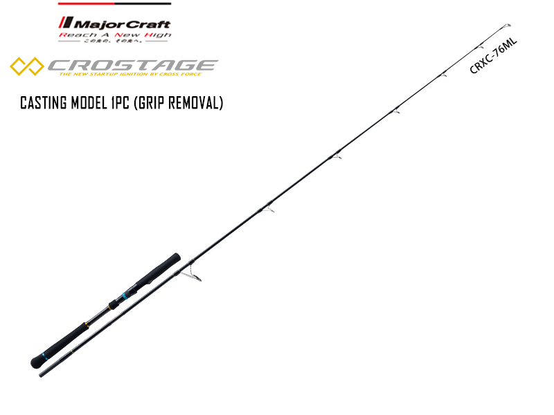 Major Craft New Crostage Casting model 1pc CRXC-76M (Length: 2.32mt, Lure: 20-80gr)