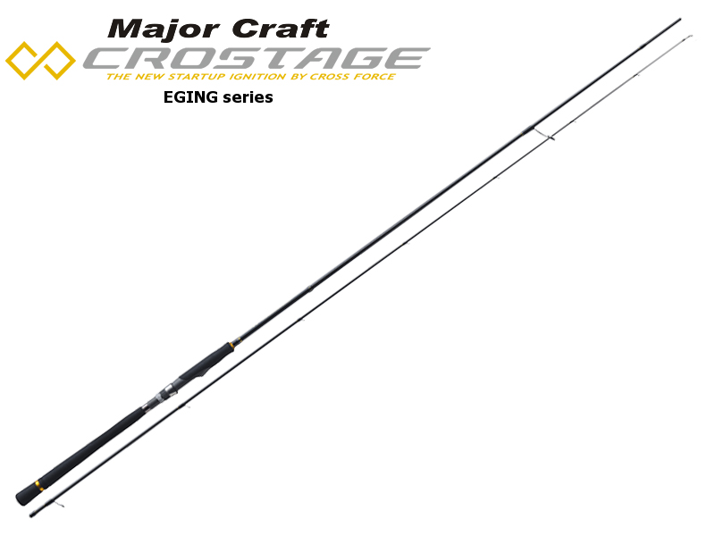 Major Craft New Crostage CRX-832E Eging Series (Length: 2.53mt, Egi: 2.5-3.5)