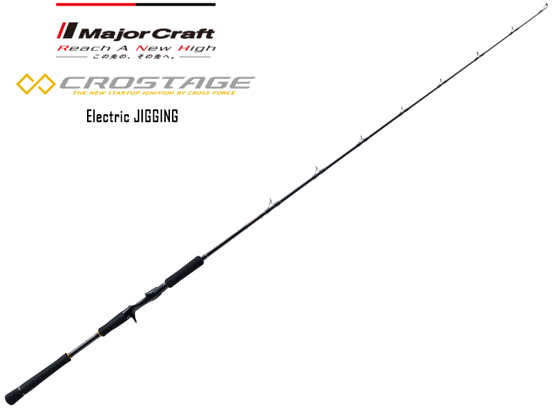 Major Craft New Crostage Electric Jerking Model CRXJ-B60MH (Length: 1.83mt, Lure: MAX 250gr)
