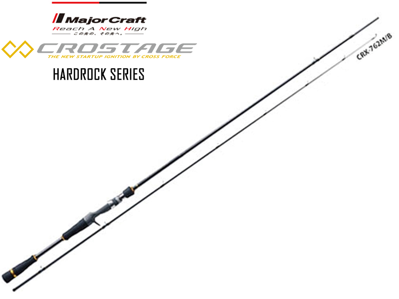 Major Craft New Crostage CRX-822H/B Hardrock Series (Length: 2.40mt, Lure: 10-50gr)