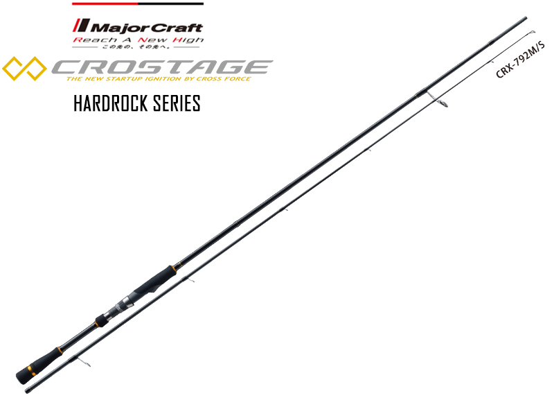 Major Craft New Crostage CRX-762ML/S Hardrock Series (Length: 2.32mt, Lure: 3-20gr)
