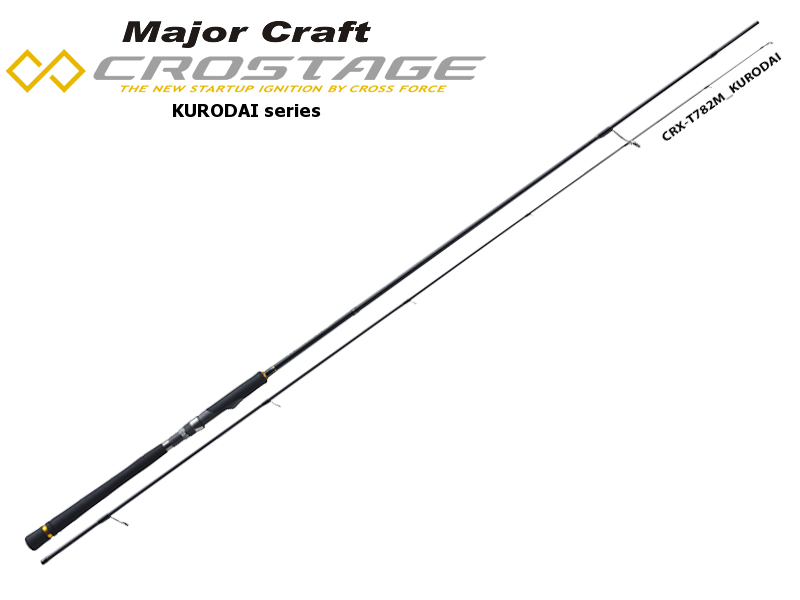 Major Craft New Crostage CRX-T782M Kurodai Series (Length: 2.38mt, Lure: 5-20gr)