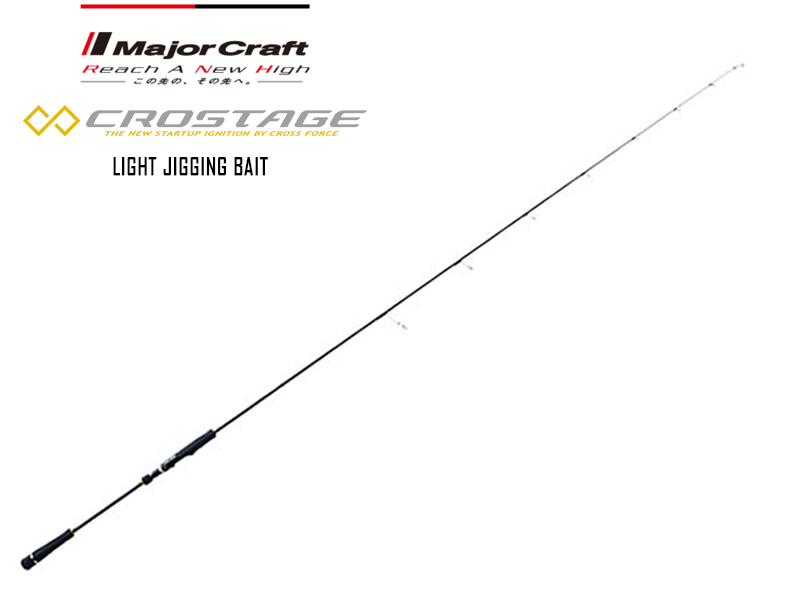 Major Craft New Crostage Light Jigging Bait Model CRXJ-B64L/LJ (Length: 1.95mt, Lure: 40-120gr)