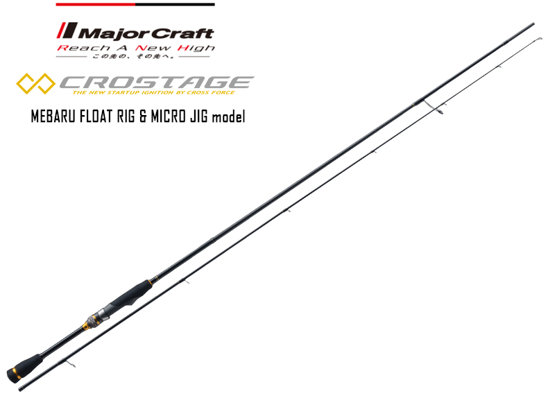 Major Craft New Crostage Mebaru Float & Micro Jig CRX-T902MH (Length: 2.74mt, Lure: 1.2-20gr)