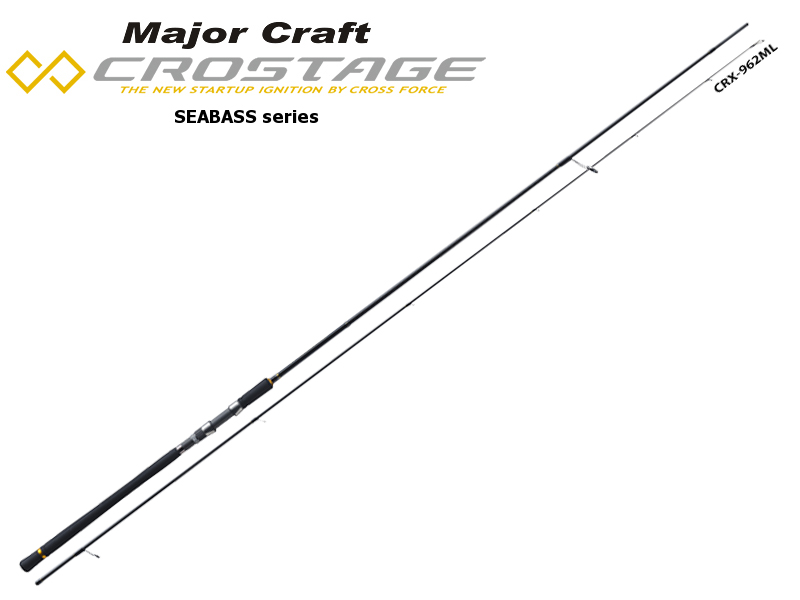 Major Craft New Crostage CRX-862L Seabass Series (Length: 2.62mt, Lure: 7-23gr)