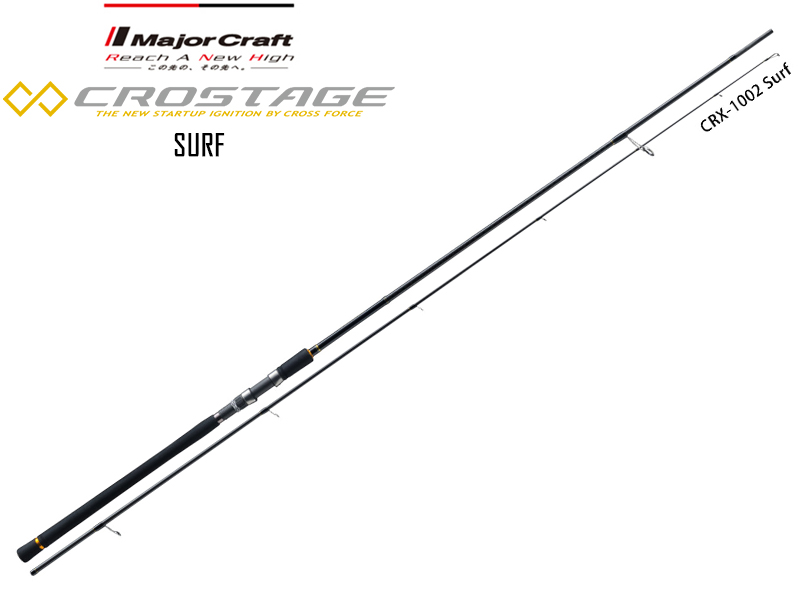 Major Craft New Crostage CRX-1002SURF Surf Series (Length: 3.04mt, Lure: 10-45gr)