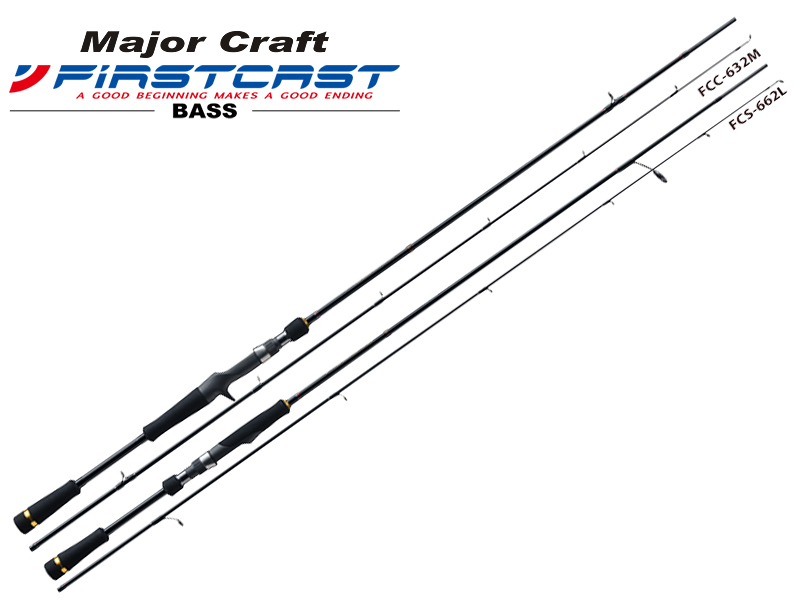 Major Craft First Cast Bass Series FCC-632M (Length: 1.92mt, Lure: 1/4-3/4oz)
