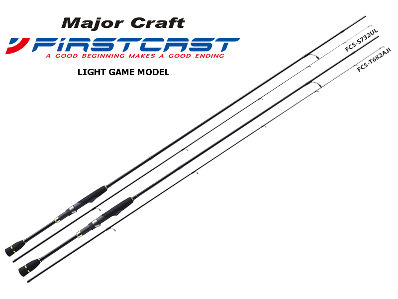 Major Craft First Cast Light Game Model FCS-T762L (Length: 2.32mt, Lure: 0.5-7gr)