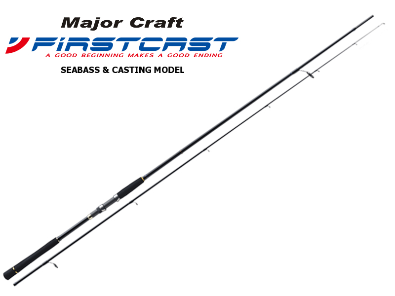 Major Craft First Cast Seabass & Casting Category FCS-902ML (Length: 2.74mt, Lure: 10-30gr)
