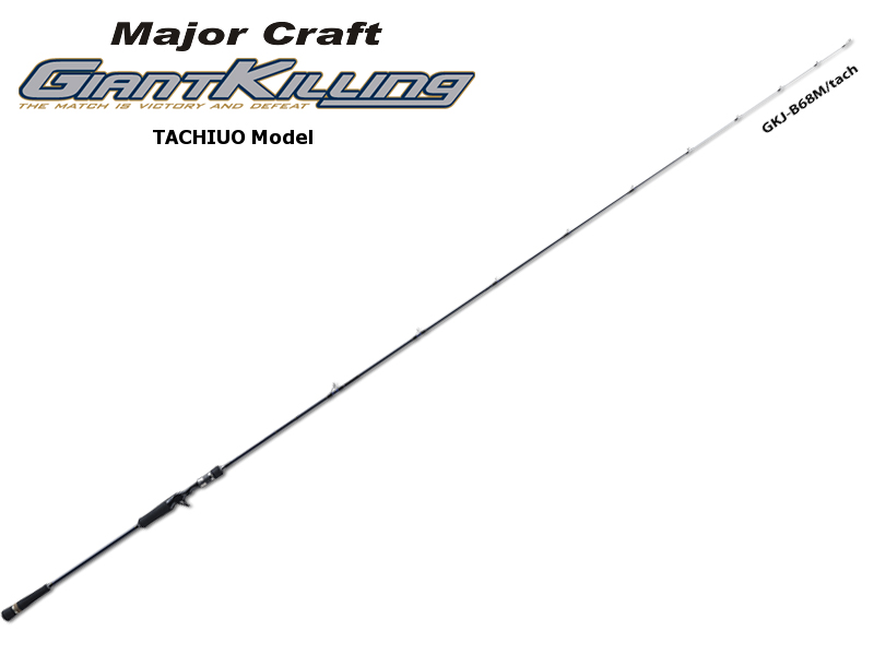 MajorCraft Giant Killing Tachiuo Model GKC-B68M/tach (Length: 2.08mt, Lure: TENYA JIG 120-150gr)