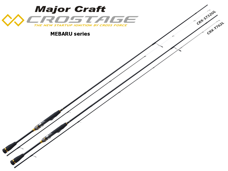 Major Craft New Crostage CRX-T792L Mebaru Series (Length: 2.41mt, Lure: 0.5-7gr)