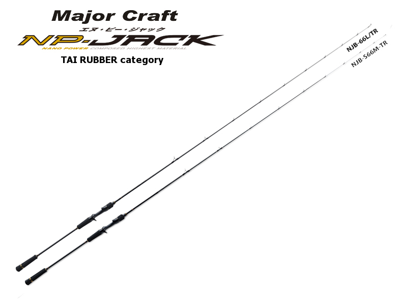 Majorcraft NP-Jack Tai Rubber Category NJB-68M/TR (Length:2.07mt, Lure: MAX 150gr)
