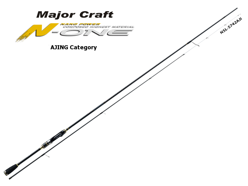 Major Craft N-One Ajing Category NSL-T682AJI (Length: 2.07mt, Lure: 0.6-10gr)