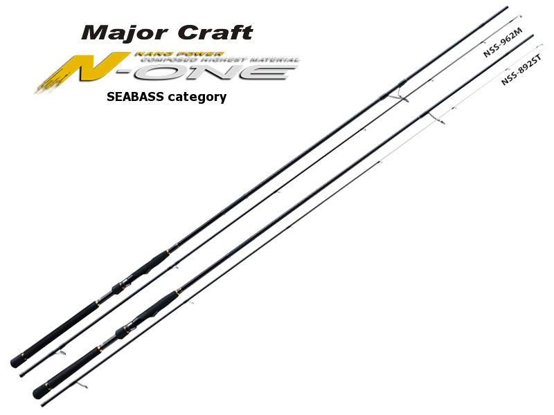 Major Craft N-One Seabass Category NSS-962M (Length: 2.93mt, Lure: 15-42gr)