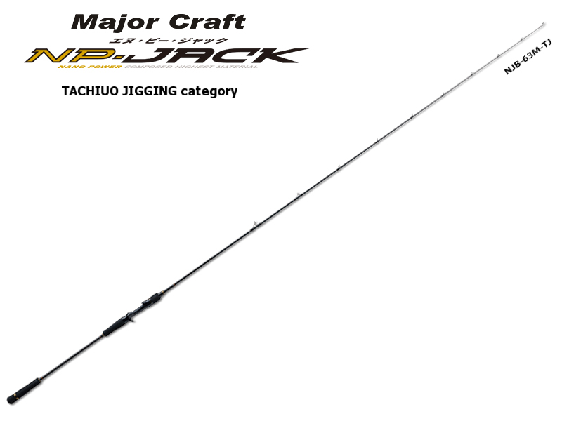 Majorcraft NP-Jack Tachiuo Jigging Category NJB-63L/TJ (Length:1.92mt, Lure:40-120gr)