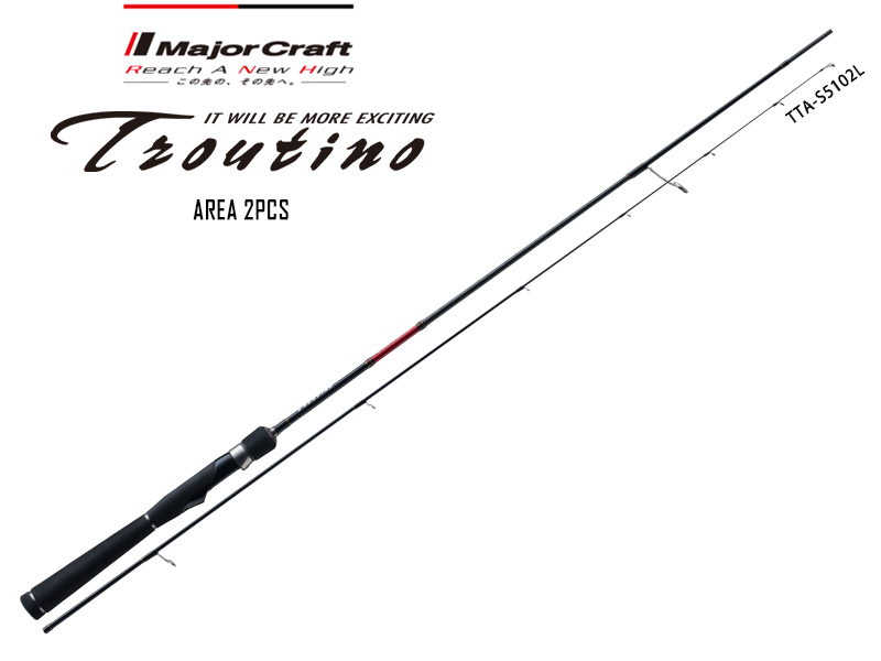 Major Craft Troutino Area Category TTA-632UL (Length:1.92mt, Lure:0.9-7gr)