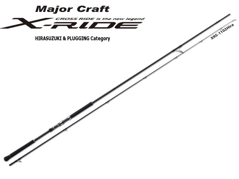 MajorCraft X-Ride Hirasuzuki & Plugging Series XRS-1102HIRA (Length: 3.35mt, Lure: 10-45gr)
