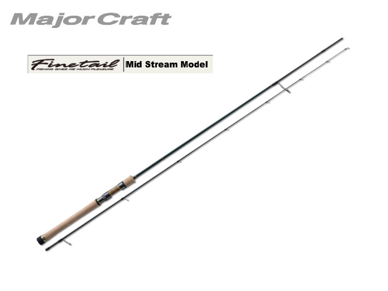 MajorCraft Finetail Mid Stream FTS-722L (Length: 2.20mt, Lure: 2-10g)