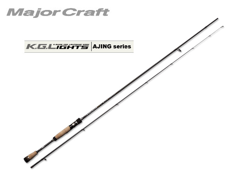 MajorCraft K.G.Lights AJING(Solid Tip) KGL-S802AJI (Length: 2.43mt, Lure: 0.6-10g)