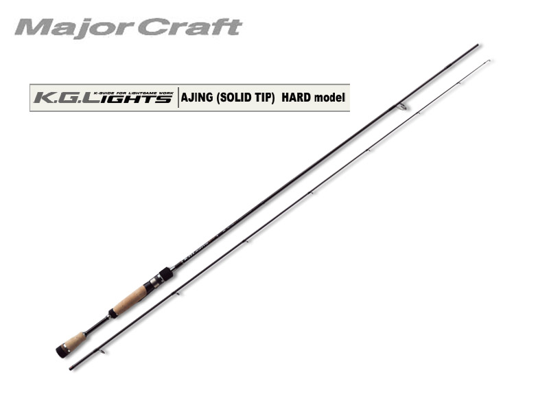 MajorCraft K.G.Lights AJING(Solid Tip) KGL-S742H/AJI (Length: 2.26mt, Lure: 0.8-12g)