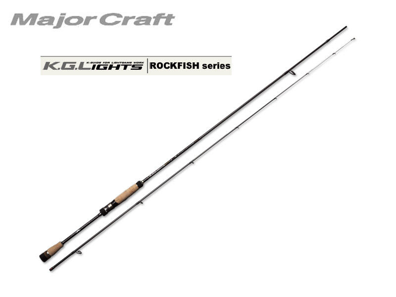 MajorCraft K.G.Lights ROCKFISH(Solid Tip) KGL-S732M (Length: 2.23mt, Lure: 0.5-5g)