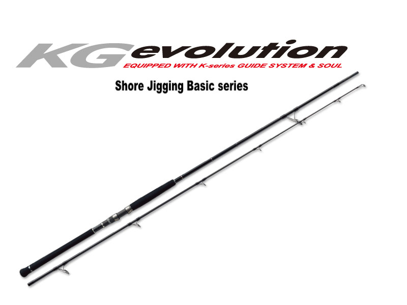 MajorCraft KG Evolution Shore Jigging Series KGS-1002MH (Length:3.05mt, Lure:20-60gr)