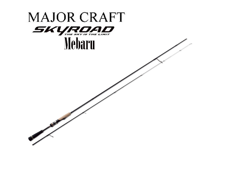 MajorCraft Skyroad Mebaru Category SKR-T732M (Length:2.23mt, Lure:0.5-7gr)