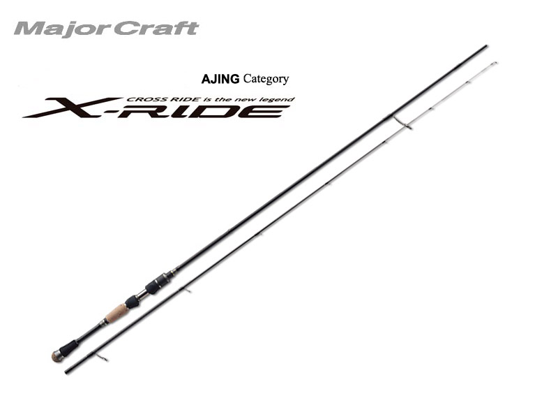 MajorCraft X-Ride Ajing XRS-T762AJI (Length: 2.32mt, Lure: 0.5-8gr)