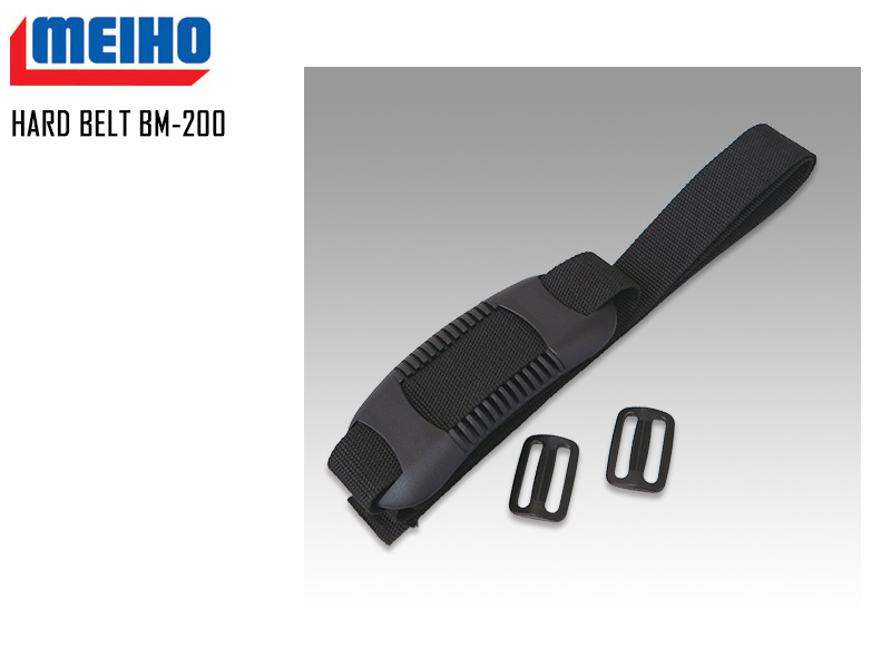 Meiho Hard Belt BM-200 (Size: 38 × 2000 mm)