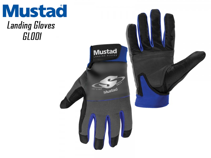 Mustad Landing Gloves GL001 (Size: Large)