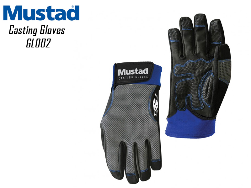 Mustad Casting Gloves GL002 (Size: Large)