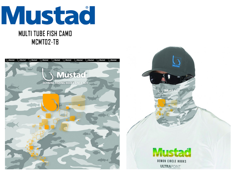 Mustad Multi Tube MCMT02-FC Fish Camo