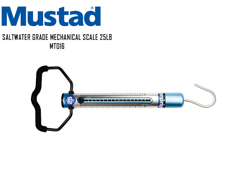 Mustad Saltwater Grade Mechanical Scale 25LB MT016