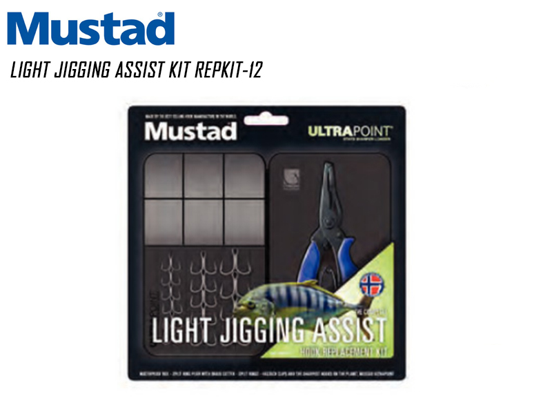 Mustad Light Jigging Assist Kit REPKIT-12