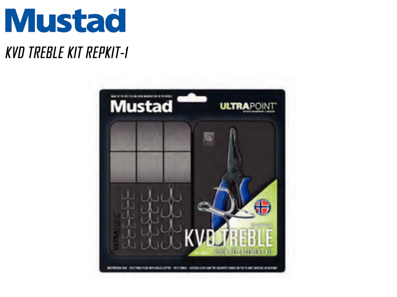 Mustad KVD Treble Kit REPKIT-1