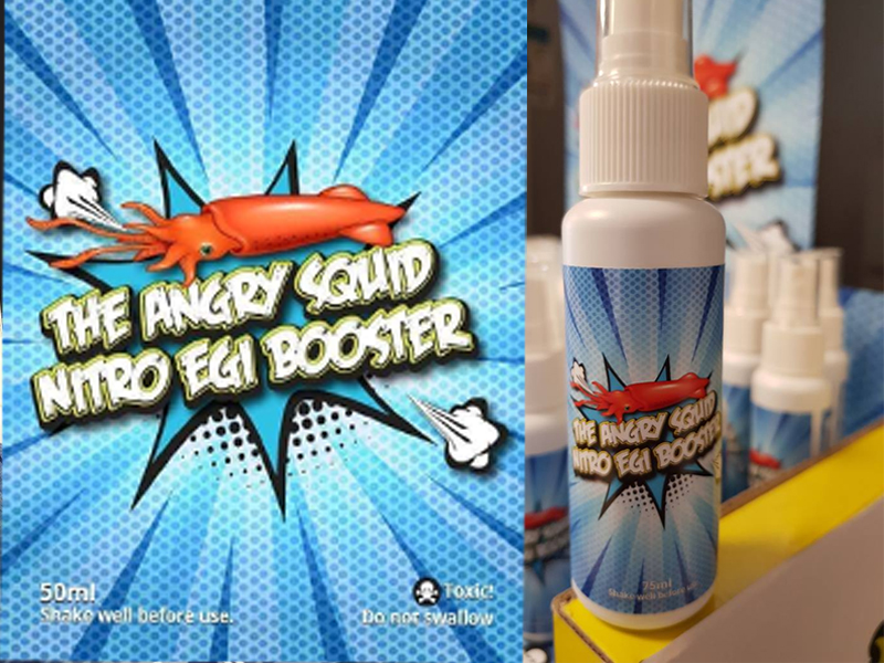 The Angry Squid Nitro Egi Booster 50ml