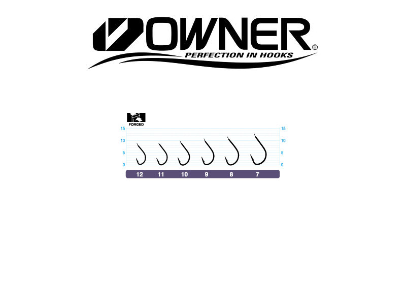 Owner Hook 50034 Isada (#7, 16pcs)