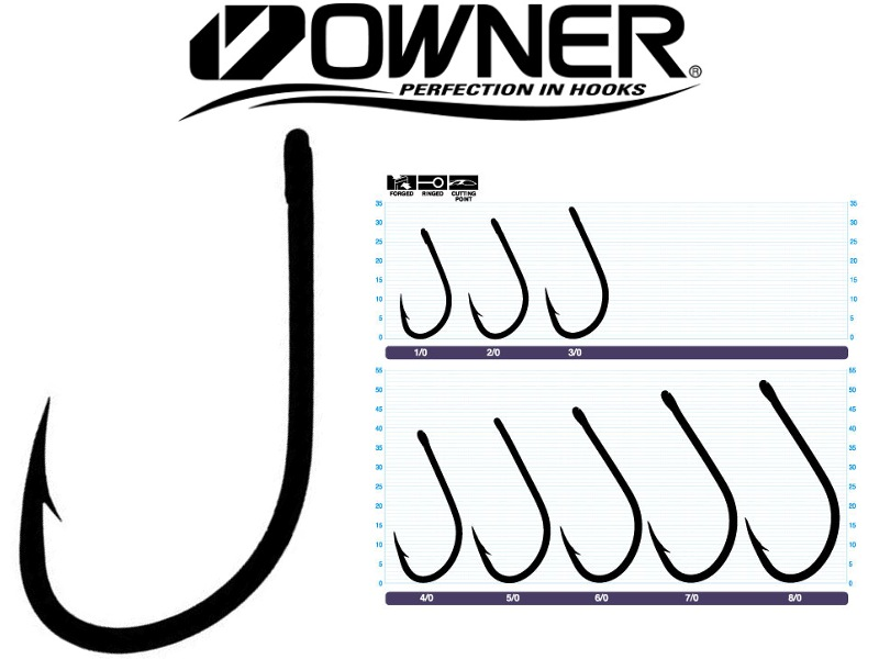 Owner 5170 Aki Hook (4/0, 5pcs)