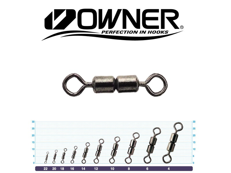 Owner 52457 W Crane Swivel (#4, 150.2lb, 5pcs)