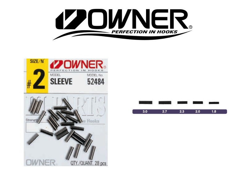 Owner 52484 Sleeve (#2.7, 20pcs)