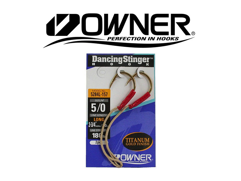 Owner 5284L Dancing Stinger Long (#7/0, 2pcs)