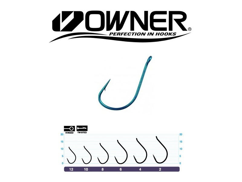 Owner 53117 Pint Hook (#2, 9pcs)