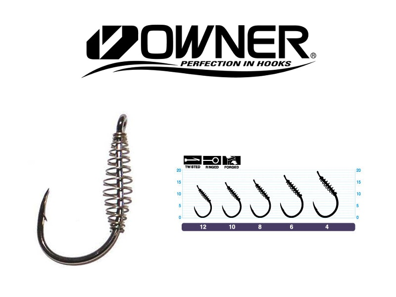 Owner 53125 Spring CCN with Eye (#4, 5pcs)