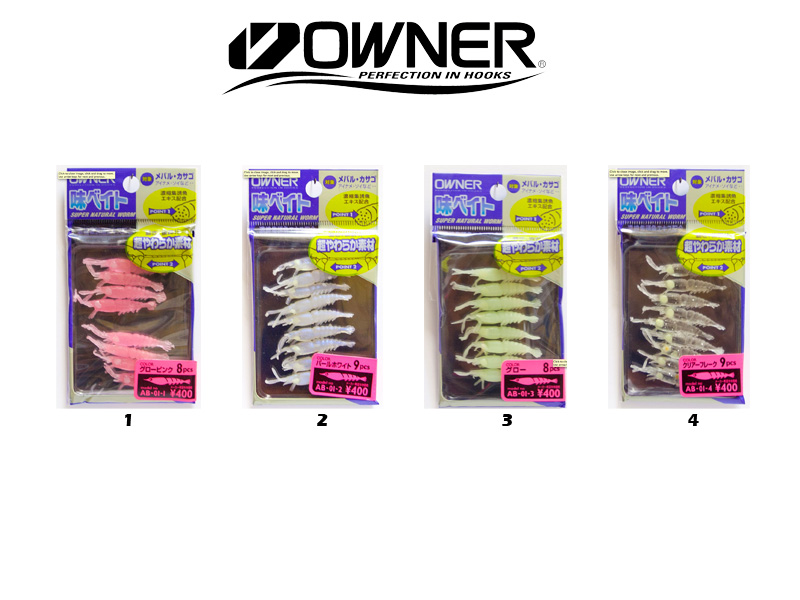 Owner Aji Ebi Bait AB-01 (3.50cm, Colour:1)