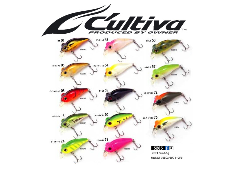 Cultiva Bug Eye Bait BB-48F (48mm, 6.5gr, floating, Colour:06)