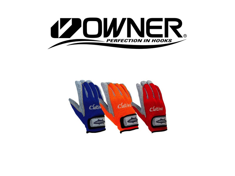 Owner Cultiva 9657 Jigging Glove (#L, Color: Orange)