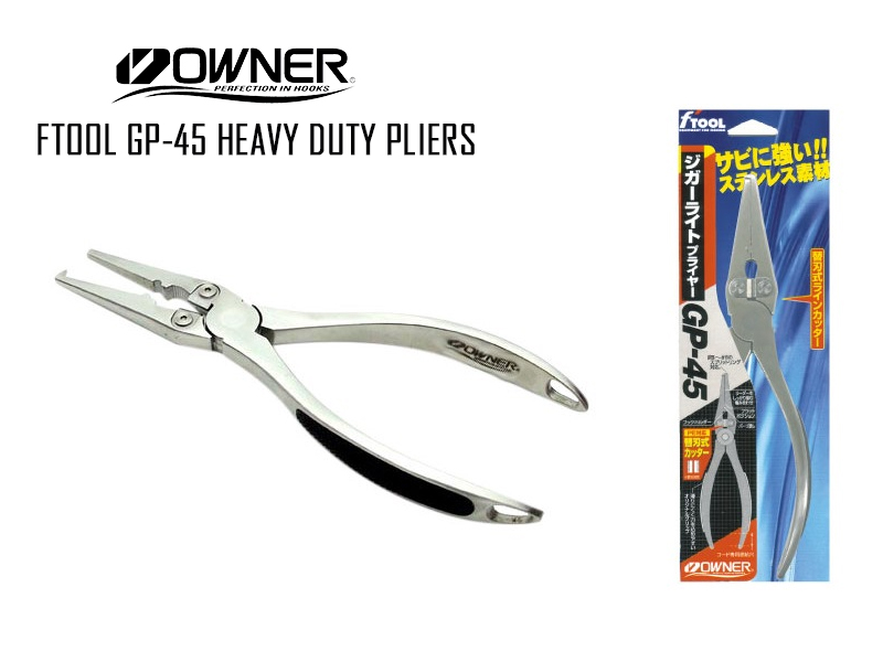 Owner FTool GP-45 Heavy Duty Pliers