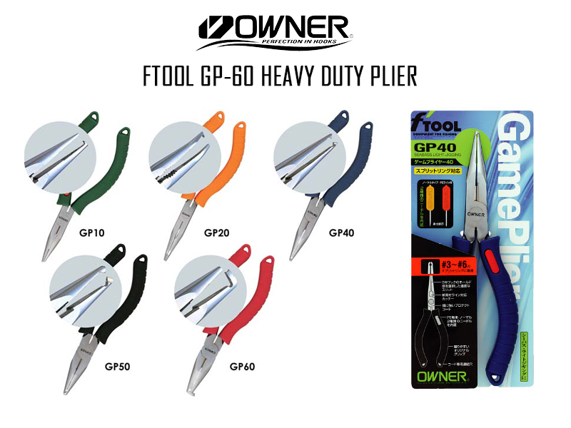 Owner FTool GP-60 Heavy Duty Plier