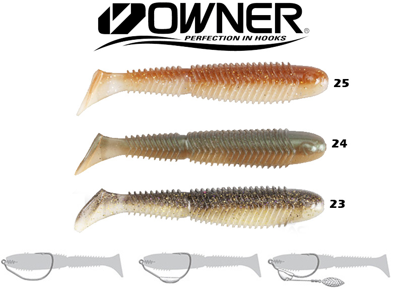 "Owner Ribeye Swimbait RS-140 (140mm, 5.5"", Colour:24)"